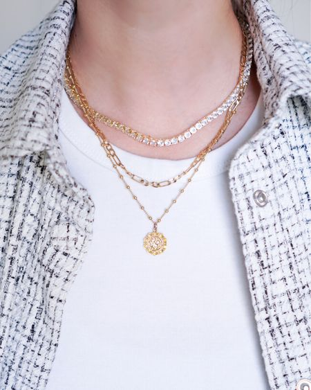 Stacking necklaces http://liketk.it/3exxj #liketkit @liketoknow.it