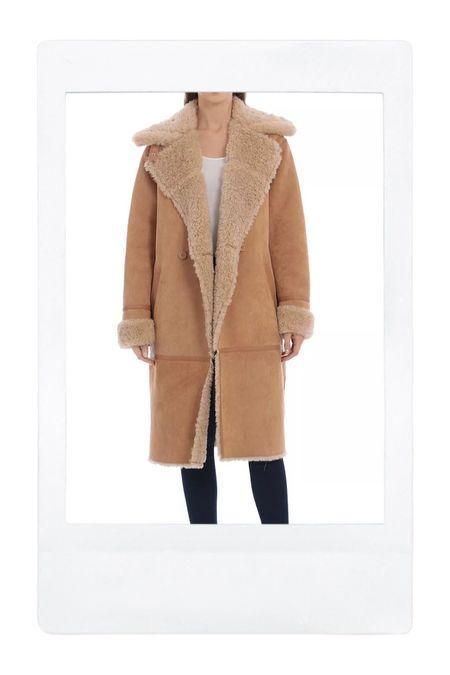 Coat. #fall #shearling #coat  #LTKSeasonal