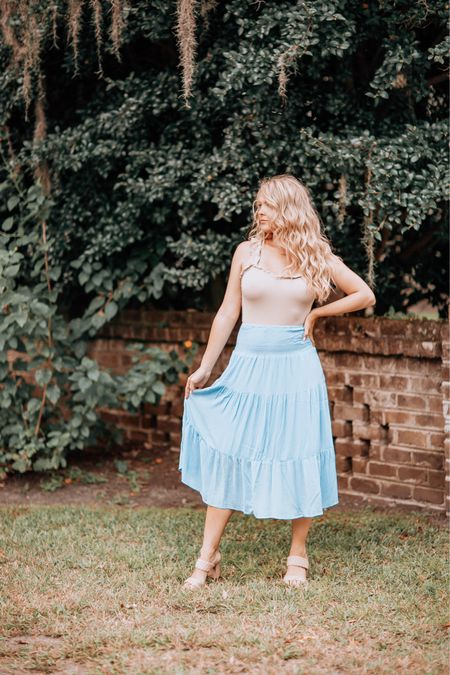 Amazon flowy skirt   #LTKstyletip #LTKworkwear