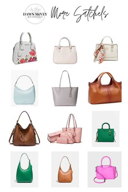 Purse-palooza handbag round-up! 😂 Linking up lots of cute bags just in time for Mother's Day gift-giving or wish-listing! Hope you find something to love! This is group two of my satchel round-up! Lots of different color options on many of these bags so be sure to over to shop the bags to see any other color options available! #purses #handbags  #liketkit @liketoknow.it http://liketk.it/3dLs2 Shop my daily looks by following me on the LIKEtoKNOW.it shopping app