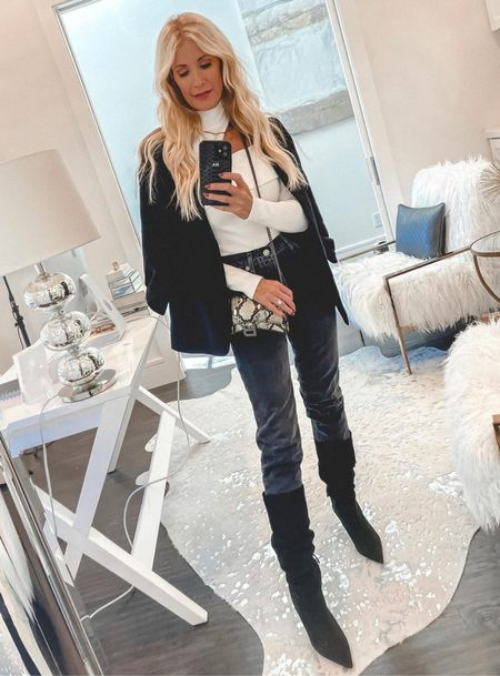 Obsessed with these Budget-friendly knee-high boots for fall and winter 🖤  Follow my shop @soheatherblog on the @shop.LTK app to shop this post and get my exclusive app-only content!  #liketkit #LTKunder100 #LTKshoecrush #LTKstyletip @shop.ltk http://liketk.it/3psKN