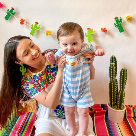 Shop your screenshot of this pic with the LIKEtoKNOW.it shopping app http://liketk.it/3etqr @liketoknow.it #liketkit #LTKkids #LTKfamily #LTKbaby cinco de Mayo, fiesta, baby boy outfit