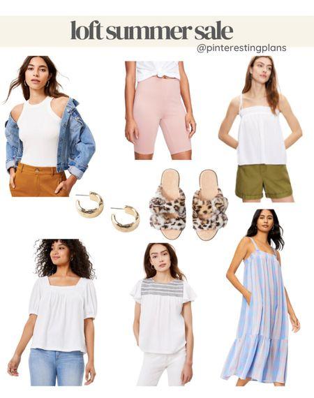 Loft summer sale, 70% off 3 + styles