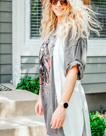 Is it a dress? Is it a nightgown? I don't care because Stevie Nicks is on the front and that's enough for me. #graphictees #summerstyle  #LTKunder50