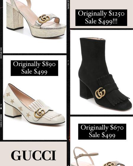 Gucci on major sale!! http://liketk.it/3g1vV #liketkit @liketoknow.it #LTKshoecrush #LTKstyletip