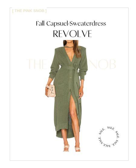 Sweater dresses. Fall outfits Revolve   #LTKSeasonal #LTKworkwear #LTKsalealert