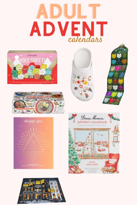 Fun, giftable advent calendars (that are unique- no chocolates here!)   #LTKGiftGuide #LTKHoliday #LTKunder50
