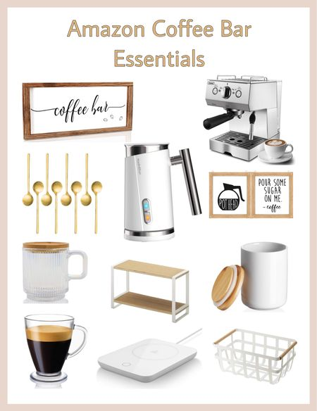 Amazon Coffee bar essentials     Wedding, Wall Art, Maxi Dresses, Sweaters, Fleece Pullovers, button-downs, Oversized Sweatshirts, Jeans, High Waisted Leggings, dress, amazon dress, joggers, bedroom, nursery decor, home office, dining room, amazon home, bridesmaid dresses, Cocktail Dress, Summer Fashion, Designer Inspired, soirée Dresses, wedding guest dress, Pantry Organizers, kitchen storage organizers, hiking outfits, leather jacket, throw pillows, front porch decor, table decor, Fitness Wear, Activewear, Amazon Deals, shacket, nightstands, Plaid Shirt Jackets, spanx faux leather leggings, Walmart Finds, tablescape, curtains, slippers, Men's Fashion, apple watch bands, coffee bar, lounge set, home office, slippers, golden goose, playroom, Hospital bag, swimsuit, pantry organization, Accent chair, Farmhouse decor, sectional sofa, entryway table, console table, sneakers, coffee table decor, bedding , laundry room, baby shower dress, teacher outfits, shelf decor, bikini, white sneakers, sneakers, baby boy, baby girl, Target style, Business casual, Date Night Outfits,  Beach vacation, White dress, Vacation outfits, Spring outfit, Summer dress, Living room decor, Target, Amazon finds, Home decor, Walmart, Amazon Fashion, Nursery, Old Navy, SheIn, Kitchen decor, Bathroom decor, Master bedroom, Baby, Plus size, Swimsuits, Wedding guest dresses, Coffee table, CBD, Dresses, Mom jeans, Bar stools, Desk, Wallpaper, Mirror, Overstock, spring dress, swim, Bridal shower dress, Patio Furniture, shorts, sandals, sunglasses, Dressers, Abercrombie, Bathing suits, Outdoor furniture, Patio, Sephora Sale, Bachelorette Party, Bedroom inspiration, Kitchen, Disney outfits, Romper / jumpsuit, Graduation Dress, Nashville outfits, Bride, Beach Bag, White dresses, Airport outfits, Asos, packing list, graduation gift guide, biker shorts, sunglasses guide, outdoor rug, outdoor pillows, Midi dress, Amazon swimsuits, Cover ups, Decorative bowl, Weekender bag           #LTKunder100 #LTKhome #LTK