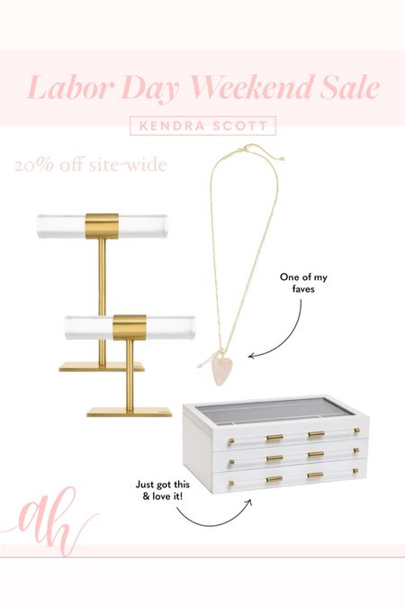 Kendra Scott jewelry, 20% off site-wide, Labor Day weekend sales   #LTKsalealert