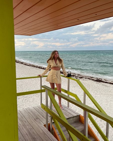 My favorite shoot yet. I've been looking for the pink lifeguard stand for so long and finally found it! http://liketk.it/3fsIW #liketkit @liketoknow.it