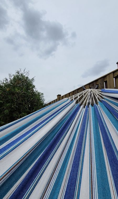 #backyard #hammock  #LTKSeasonal #LTKhome #LTKfamily