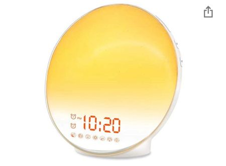 This sun light alarm will change your morning !