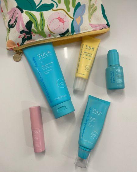 Favorite Tula products skin care SPF sunscreen face sunscreen daily cleanser face filter I warm primer use code Emerson  http://liketk.it/3i5h0 #liketkit @liketoknow.it #LTKsalealert #LTKbeauty #LTKstyletip