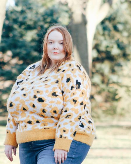 This bright and cozy sweater is what winter dreams are made of. http://liketk.it/32CIR #liketkit @liketoknow.it #LTKcurves #LTKstyletip #LTKunder100