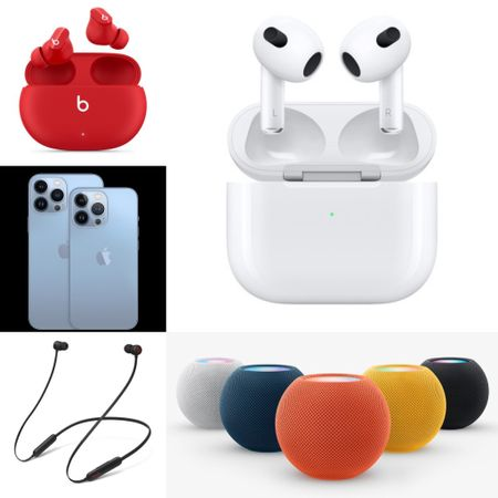 Apple's HomePods now come with multi colors. How exciting! We also love new wireless Beats Studio bud for noise canceling .     #LTKHoliday #LTKGiftGuide