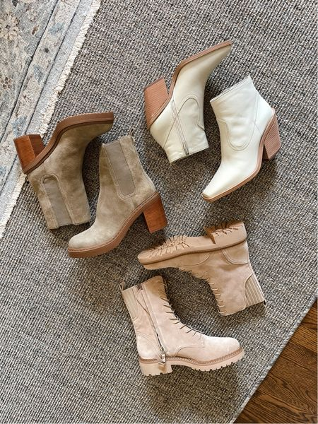 Fall booties from Nordstrom anniversary sale   #LTKsalealert #LTKshoecrush