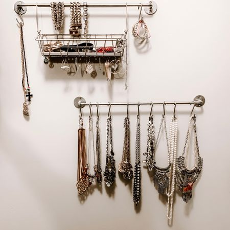 Shared my jewelry storage hack over in my stories! . I will save it in my highlights and link everything here.  You can find everything from IKEA on Amazon!    http://liketk.it/2DnxU #liketkit @liketoknow.it