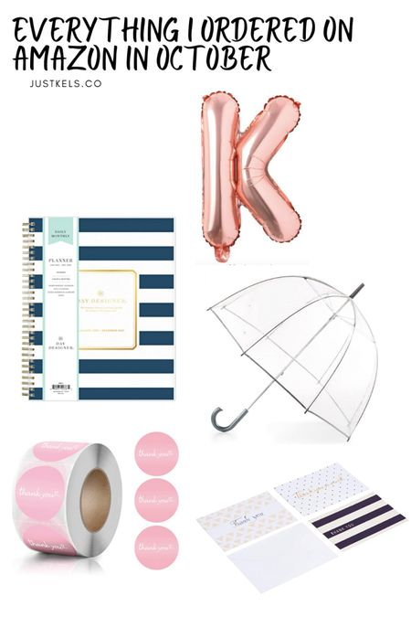 My Amazon October finds coming to the blog later this week! This planner has been my holy grail this year so decided to buy the same one for next year! Also been loving this clear and see through umbrella! Helps so much with blocking out rain and feels like your own personal bubble http://liketk.it/2ZMFE @liketoknow.it #liketkit #LTKsalealert #LTKunder50 #StayHomeWithLTK