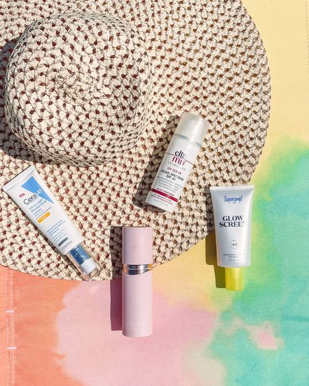 Just a few of my favorite facial sunscreens!  The CeraVe is one of my favorites. Unscented and priced at only $14.99.  Elta MD is another great one, but it is a little bit more pricey. However, it works great for those with acne prone skin and it does come in a tinted version too.  Winky Lux is another facial sunscreen that I use from time to time. It is tinted and does have a light scent to it. My newest fave is the supergoop glow screen. It has an spf of 40, with a bonus of it being a makeup primer as well. Extra bonus, it can act like a highlighter while protecting your skin.   http://liketk.it/3fxCP #liketkit #LTKbeauty #LTKswim #LTKtravel #LTKunder50 @liketoknow.it @liketoknow.it.brasil @liketoknow.it.europe @liketoknow.it.family @liketoknow.it.home You can instantly shop my looks by following me on the LIKEtoKNOW.it shopping app