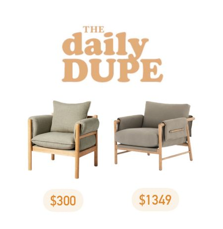 Accent Chair, Armchair, Save vs Splurge, Daily Dupe, Target Find  #LTKhome