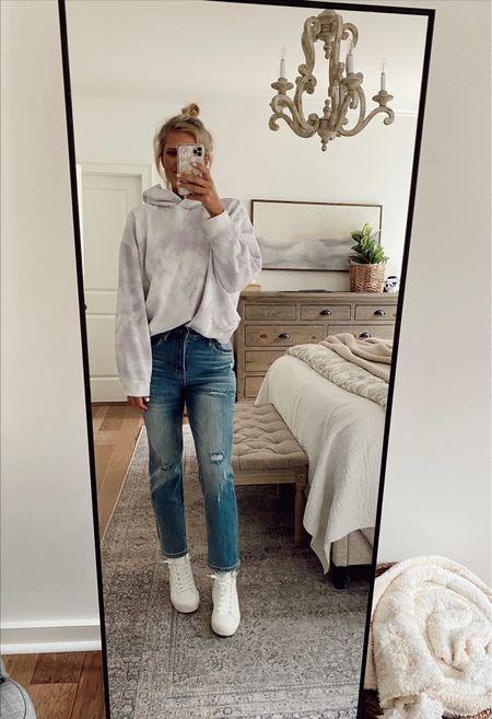 Jeans // size down, wearing a size 27   #LTKunder100 #LTKfit #LTKstyletip