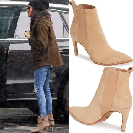 Meghan inspired pointed booties #fall #shoes   #LTKstyletip #LTKshoecrush
