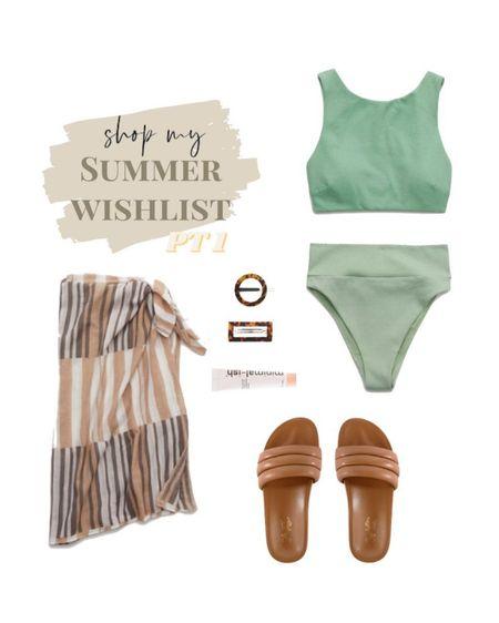 summer swim wishlist pt 1⚡️ http://liketk.it/3bkHh #liketkit @liketoknow.it #LTKSpringSale #LTKswim #StayHomeWithLTK