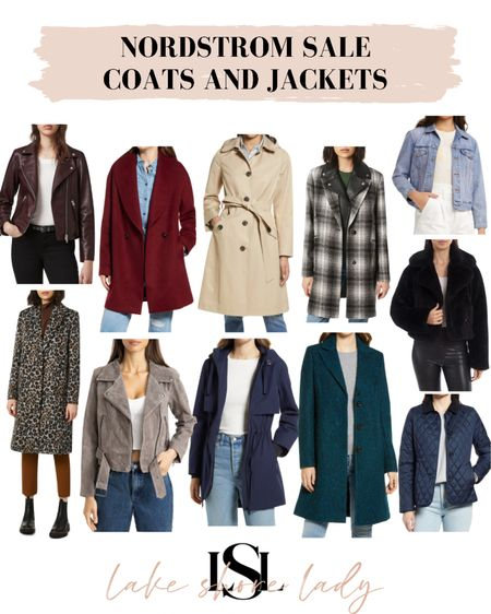 The best coats and jackets from the Nordstrom Sale! #nsale  #LTKsalealert