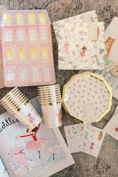 Lola Dutch party supplies and party ideas for little girls   #LTKkids #LTKfamily