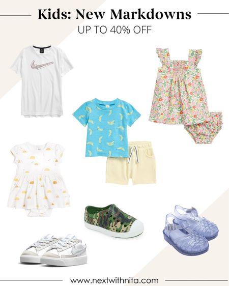 Kids clothing and kids shoes on sale for up to 40% off!   #LTKkids #LTKbaby #LTKsalealert