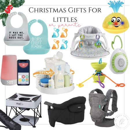 Gift guide for littles or parents of littles! ✨🎄 http://liketk.it/31BXj @liketoknow.it #liketkit  #giftguide #babygadgets #babies #parents #gifts