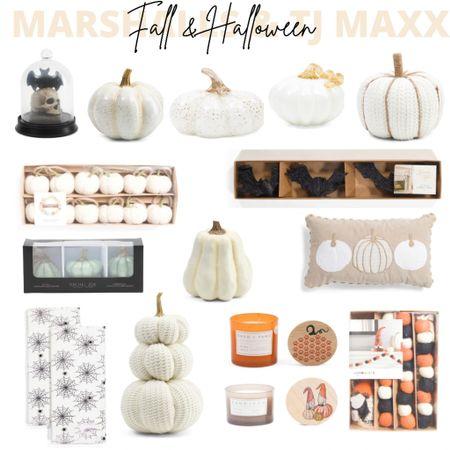 Fall Decor, Halloween Decor, Marshall's, TJ MAXX, Affordable Decor, Home Decor, Sale, Fall, Halloween   #LTKSeasonal #LTKunder50 #LTKhome