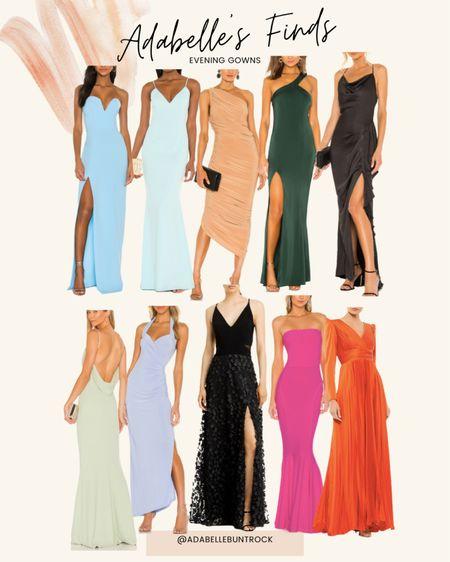 Evening gowns dresses black tie wedding guest maxi dress   #LTKstyletip #LTKwedding