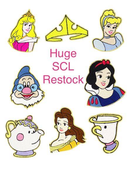 Incredible restock of the Stoney Clover Lane for Disney princess collection. Almost all of the princess patches available and a few notebooks also in stock. Grab them now before they sell out again! . #ltkrestock #stoneycloverlane #disney #ltktravel  #LTKitbag #LTKstyletip #LTKunder50