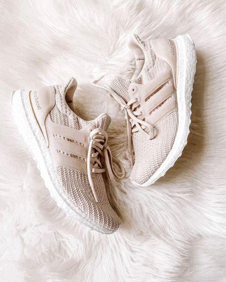 Adidas sneakers from the #NSALE! love the beige color. I always go down 1/2 a size in adidas #anniversarysale #nordstromsale   http://liketk.it/3kGqB #liketkit @liketoknow.it   #LTKfit #LTKsalealert #LTKunder100