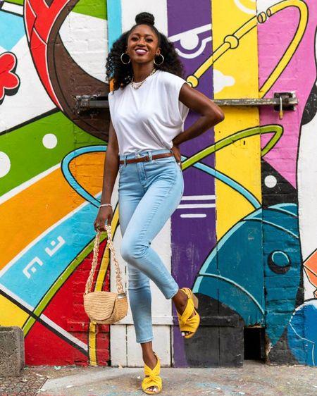 Gotta love a colorful daytime look! Especially with yellow shoes!   http://liketk.it/328tO #liketkit @liketoknow.it   #LTKshoecrush #LTKstyletip #LTKunder100