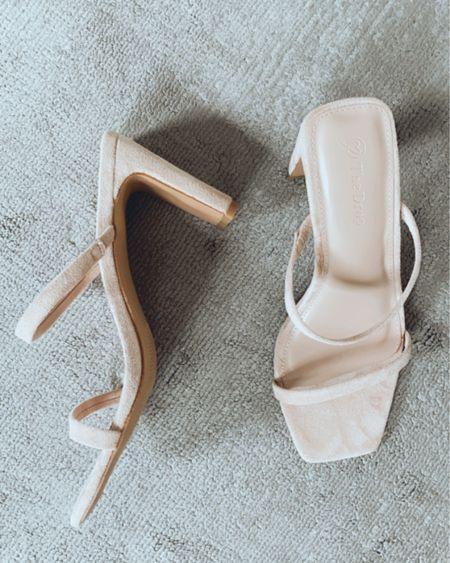Amazon finds, amazon fashion, low heel, nude heels, http://liketk.it/3hgJE #liketkit @liketoknow.it finding beauty mom #LTKunder100 #LTKstyletip