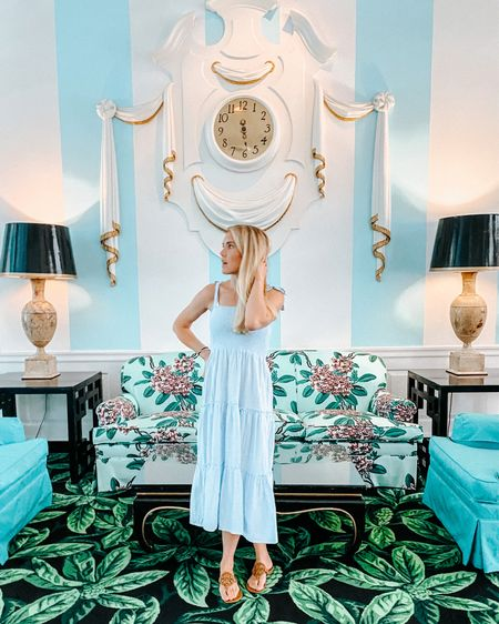 Quick little weekend getaway to the greenbrier resort! I feel like I'm Alice in wonderland with how amazing this place is! The perfect place to wear all of my favorite summer sun dresses and change outfits 15 times a day! #liketkit @liketoknow.it http://liketk.it/3icyd