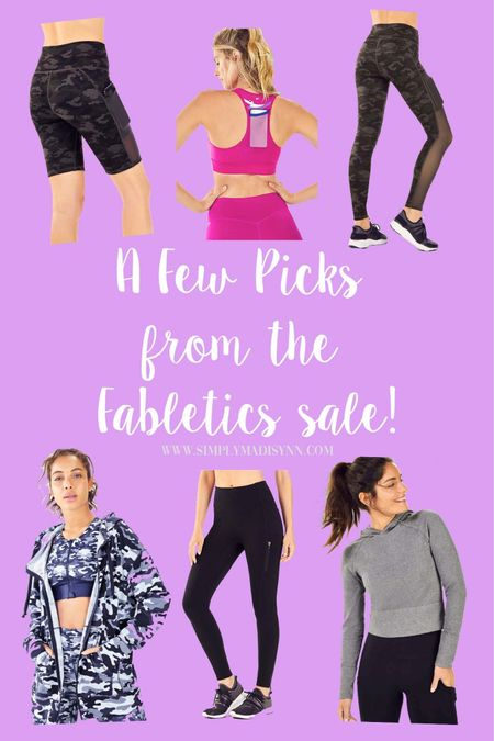 Sharing some of my favorite items from the @Fabletics #MemorialDaySale 💙 I included a high impact sports bra, a few of my fav pairs of leggings with pockets, and my fav biker shorts😍🙌🏼 I have everything in a medium and then the bra in a large!  I even added the cutest hoodies since they were on sale, so happy shopping😌 • •  http://liketk.it/2Py04 @liketoknow.it #liketkit #StayHomeWithLTK #LTKsalealert #LTKfit #LTKunder100 #LTKunder50 #SaleAlert #FabletcisSale #FitWear #ComfyWear #LeggingswithPockets #MemorialDay