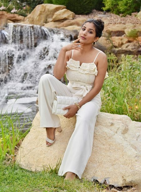 I found the perfect outfit to wear to your special occasion from #express and this one is on sale is only for $54. Grab it before its gone. They also have it in black color. Adding both of them here #expressyou #date #jumsuit #whiteoutfit  #LTKstyletip #LTKwedding #LTKsalealert