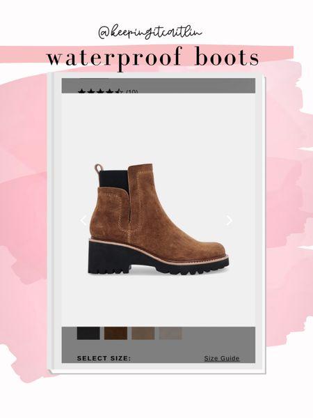 Dolce vita waterproof boots   #LTKstyletip #LTKshoecrush