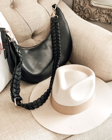 Summer Hats with Curateur. Lynn Hat in cream. Black and Cream crossbody bags from Urban Outfitters.   Shop this pic below. Follow @lindseyandcoco on @liketoknow.it to never miss a deal or a sale. So glad you're here!💗   http://liketk.it/3fzJ7 #liketkit #LTKitbag #LTKstyletip