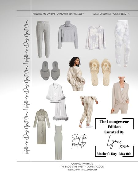 Your Mother's Day Gift Guide | The Loungewear Edition #LTKstyletip #LTKfamily #liketkit @liketoknow.it http://liketk.it/3ekLC