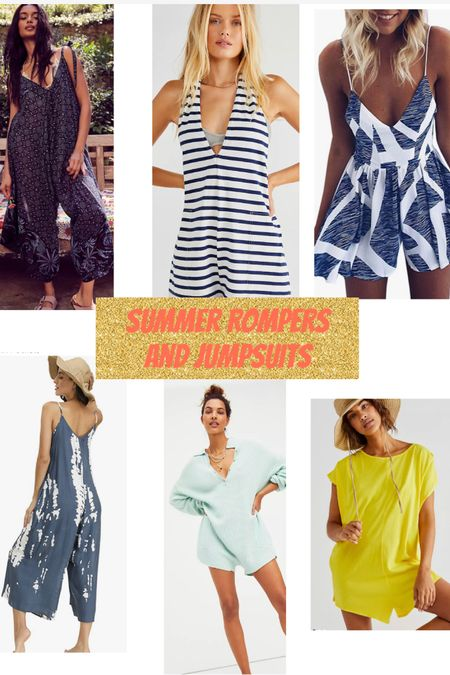 I'll be in rompers and jumpsuits all summer! Loving these Free People styles along with some Amazon styles that are similar. http://liketk.it/3fzeZ @liketoknow.it #liketkit #LTKcurves #LTKunder100 #LTKSummer