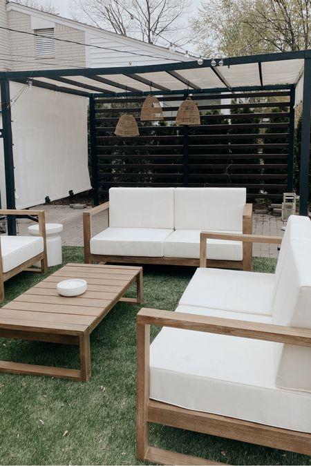 Backyard patio http://liketk.it/3dJYN #liketkit @liketoknow.it #LTKhome #LTKunder100 #LTKunder50