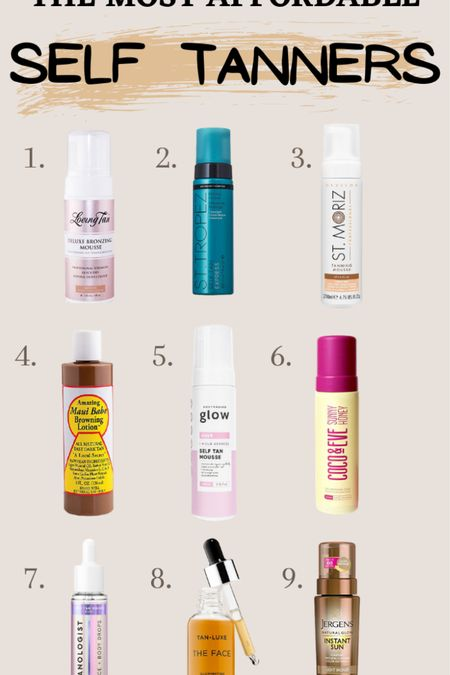 Self tanner and tanning lotion: the best self tanners under $50. Shop these self tanners and tan lotion from Ulta for a great summer look #tan #tanning #tanninglotion #selftanner #tanner #LTKunder50 #LTKbeauty #LTKSeasonal #liketkit @liketoknow.it http://liketk.it/381c0
