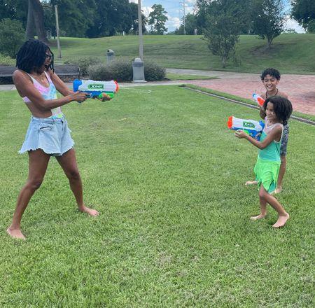 Water gun fight at the park   #LTKkids #LTKbacktoschool #LTKunder100