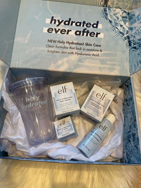 New additions to ELFs cruelty free skincare Holy Hydration line. It's all vegan skincare too. #LogicalHarmonyApproved #CrueltyFree   #LTKbeauty #LTKunder50