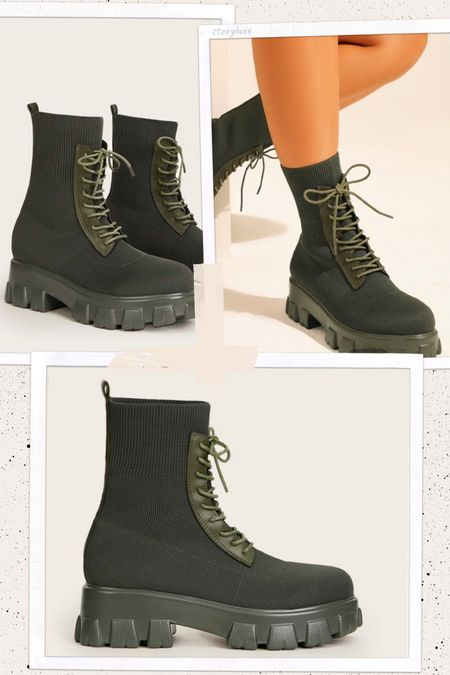 SHEIN combat boots for fall   #LTKstyletip #LTKunder100 #LTKSeasonal