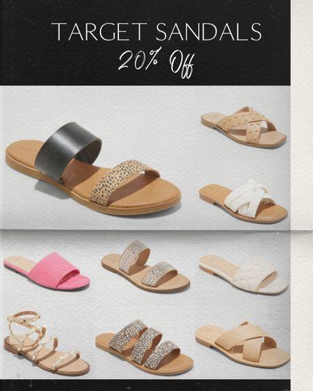 Target sandals 20% off!  http://liketk.it/3g8f1 #liketkit @liketoknow.it